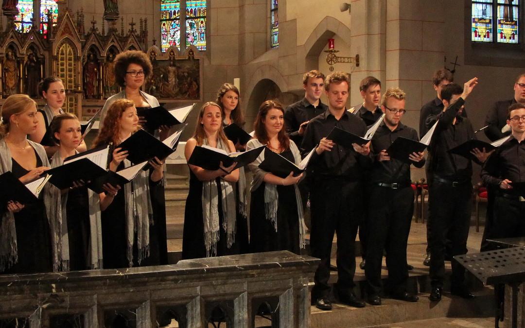 """Geistliches Konzert- """"The a cappella challenge"""" Yorkshire & Rhineland reUnited"""